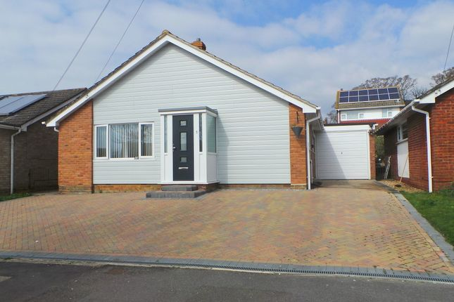 Thumbnail Detached bungalow to rent in Longmynd Drive, Fareham