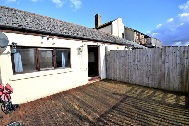 Thumbnail Terraced bungalow for sale in 1 The Riverside, The Quay, Calstock, Cornwall