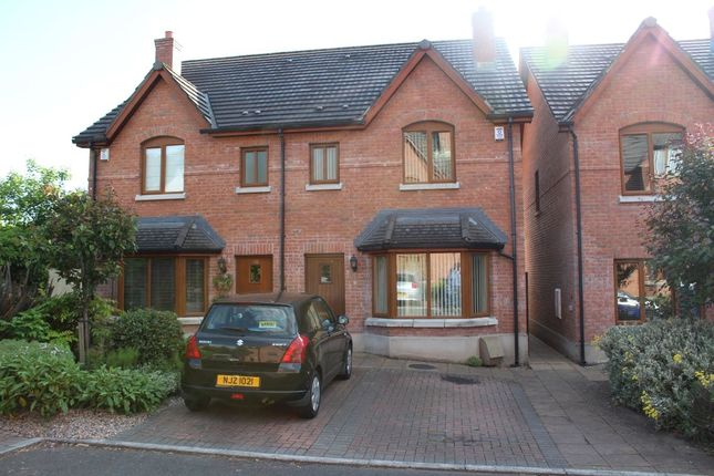 Thumbnail Semi-detached house to rent in Bailey Manor, Dundonald, Belfast