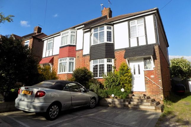 Thumbnail Semi-detached house for sale in Sanyhils Avenue, Brighton