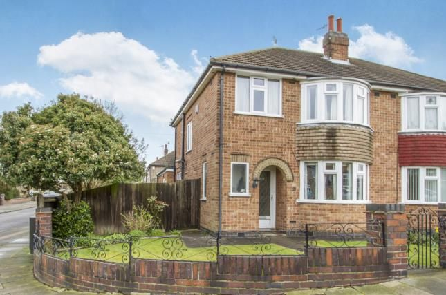 Thumbnail Semi-detached house for sale in Butcombe Road, Leicester