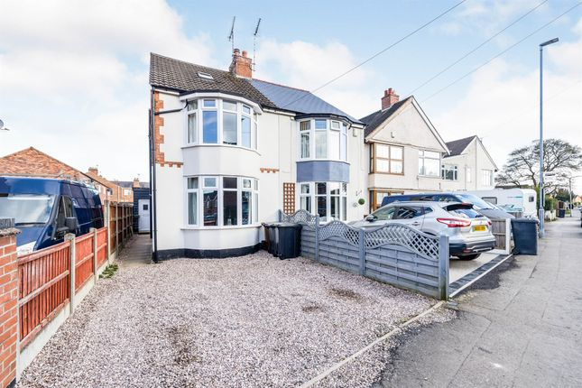 3 bed semi-detached house for sale in Kirkby Road, Barwell, Leicester LE9
