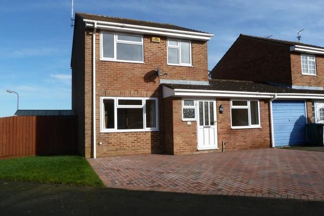 Thumbnail Detached house to rent in Hare Close, Buckingham