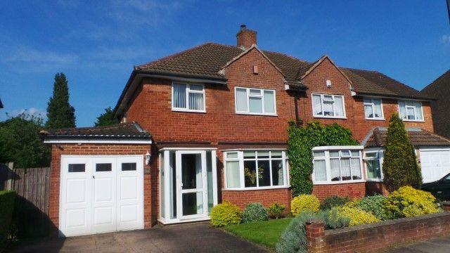 Thumbnail Semi-detached house for sale in Rectory Park Avenue, Sutton Coldfield, West Midlands