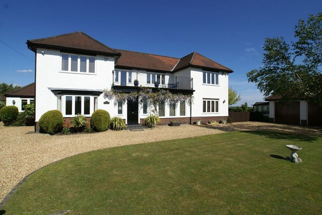 Thumbnail Detached house for sale in Belper Road, Shirland, Alfreton, Derbyshire