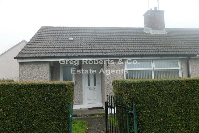 Thumbnail Bungalow for sale in 30 Glan-Y-Nant, Rhymney, Caerphilly County.