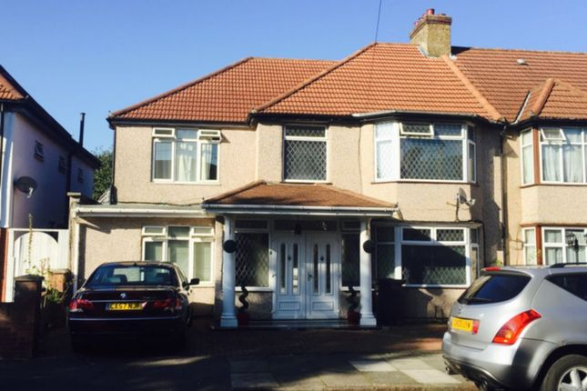 Thumbnail Terraced house to rent in Sudbury Heights Avenue, Wembley