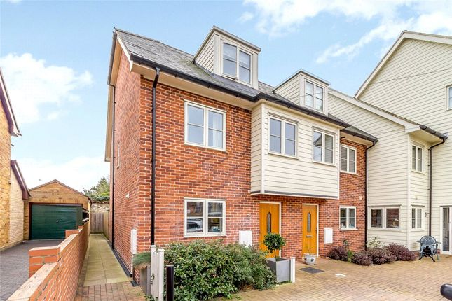 Thumbnail Semi-detached house to rent in Priory Villas, Priory Walk, Sudbury, Suffolk