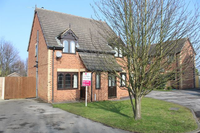 Thumbnail Semi-detached house for sale in Far Field Close, Edenthorpe, Doncaster