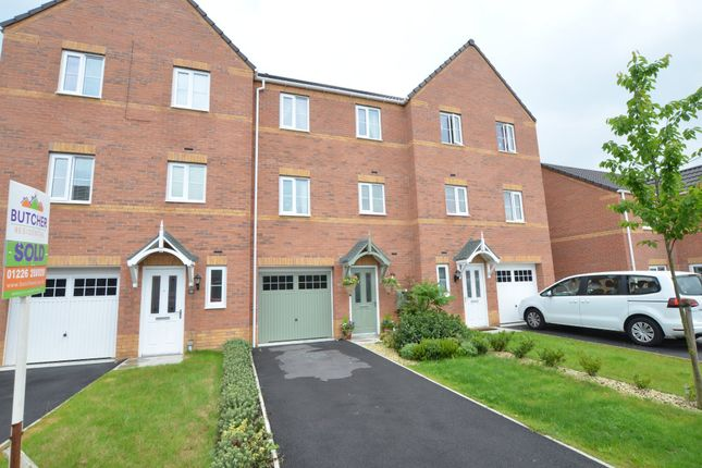 Thumbnail Town house for sale in Bellcross Way, Barnsley