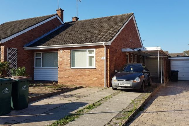 Thumbnail Semi-detached bungalow to rent in 2 Bedroom Semi Detached Bungalow, Girdlers Close, Styvechale Grange, Coventry