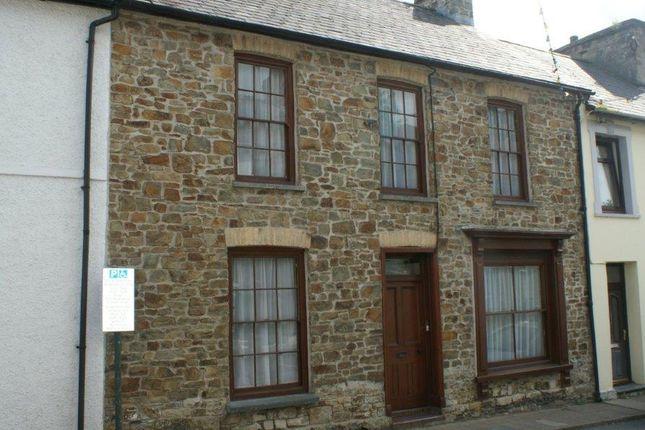 Thumbnail Town house for sale in Llandysul, Ceredigion