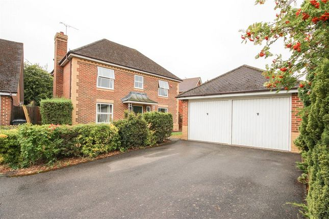 Thumbnail Detached house for sale in Brandon Road, Church Crookham, Fleet, Hampshire