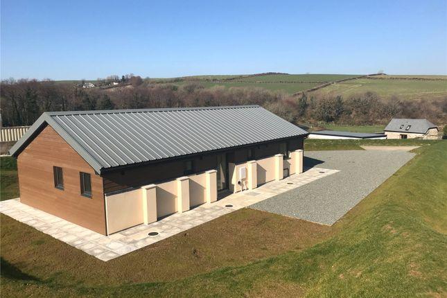 Thumbnail Bungalow for sale in Warracott Farm Barns, Chillaton, Lifton, Devon
