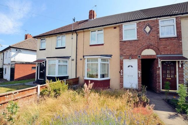 Thumbnail Terraced house for sale in Mansion Crescent, Bearwood, Smethwick