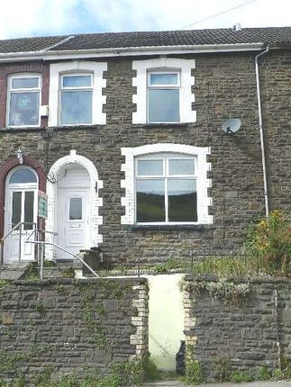 Thumbnail Terraced house to rent in Pleasant View, Tylorstown