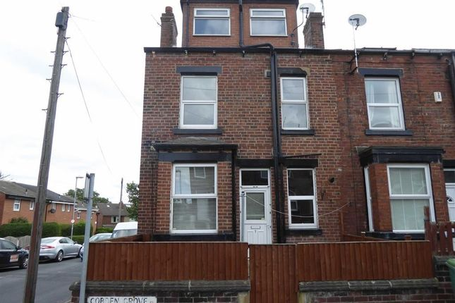 Thumbnail End terrace house to rent in Cobden Grove, Leeds, West Yorkshire