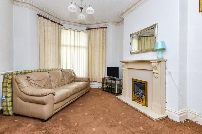 Living Room of Central Drive, Morecambe, Lancashire, United Kingdom LA4