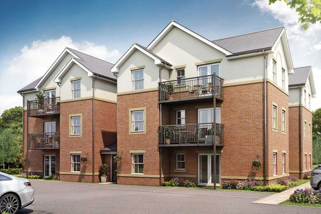 "2 bedroom flat for sale in ""The Apartments A - First Floor 2 Bed"" at Malthouse Way, Penwortham, Preston"