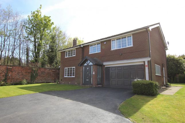 Thumbnail Detached house for sale in Carlton Court, Hale, Altrincham