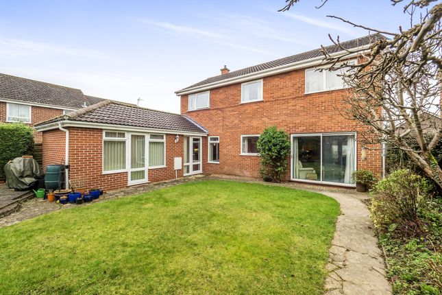 Thumbnail Detached house for sale in Abinger Way, Norwich