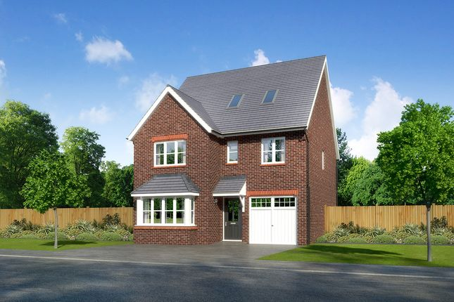 "Thumbnail Detached house for sale in ""Longrush"" at Close Lane, Alsager, Stoke-On-Trent"