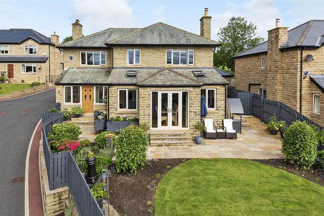 Thumbnail Detached house for sale in Ravens View, Ellers Road, Sutton-In-Craven, Keighley