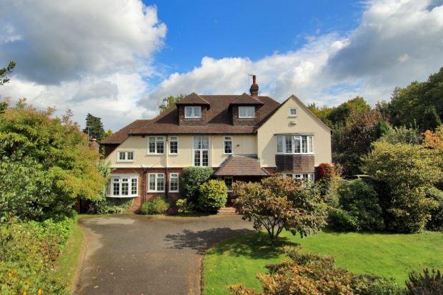 Thumbnail Detached house for sale in West Heath Lane, Sevenoaks