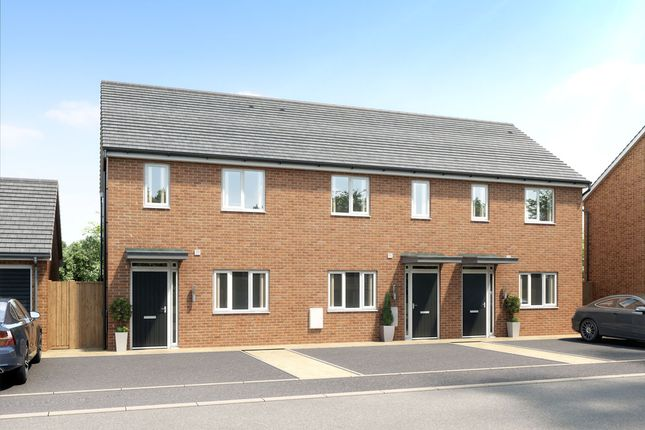 Thumbnail 2 bedroom terraced house for sale in Branston Leas, Acacia Lane, Off Hollyhock Way, Branston