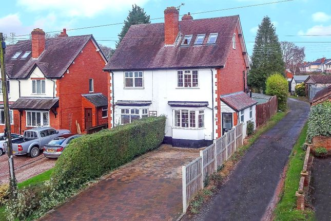 Thumbnail Semi-detached house for sale in Church Road, Webheath, Redditch