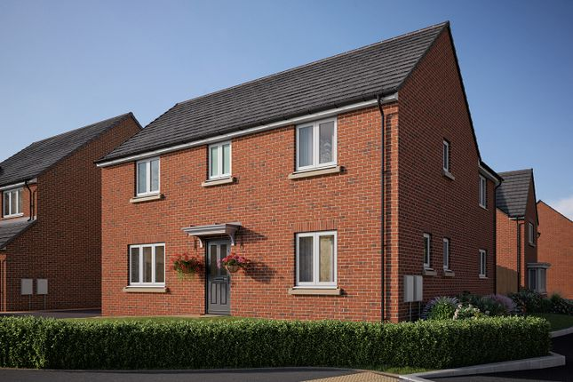"Thumbnail Detached house for sale in ""The Kempthorne"" at Roecliffe Lane, Boroughbridge, York"