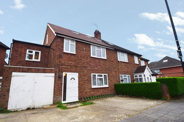 Thumbnail Semi-detached house to rent in Oldfield Farm Gardens, Greenford