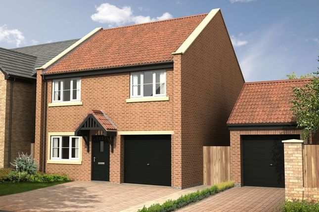 Thumbnail Detached house for sale in The Chestnut At Nursery Gardens, Stannington, Morpeth (1215 Sq.Ft.)