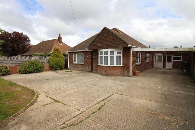 Thumbnail Detached bungalow to rent in Brook Lane, Warsash, Southampton