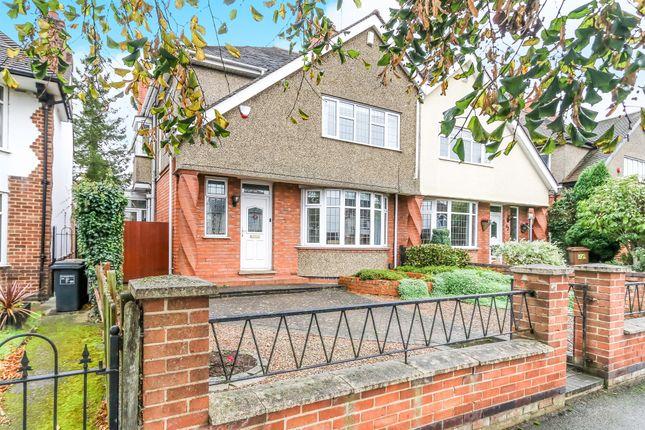 Thumbnail Semi-detached house for sale in Park Avenue North, Abington, Northampton