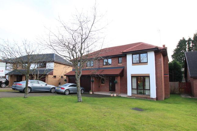 Thumbnail Detached house for sale in Grieve Croft, Bothwell, Glasgow