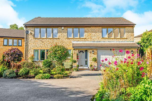 Thumbnail Detached house for sale in Burton Acres Lane, Highburton, Huddersfield