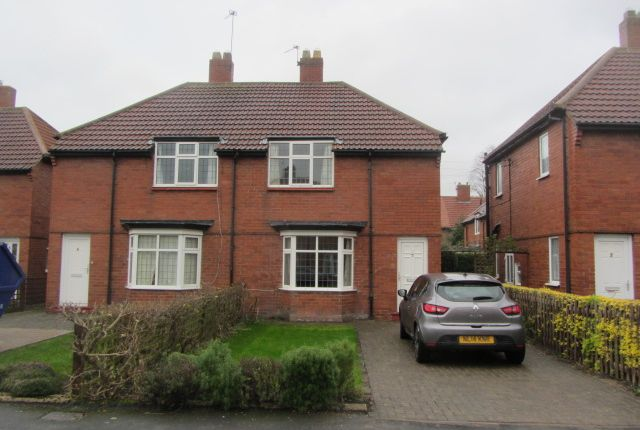 Thumbnail Semi-detached house to rent in Percy Square, Durham City