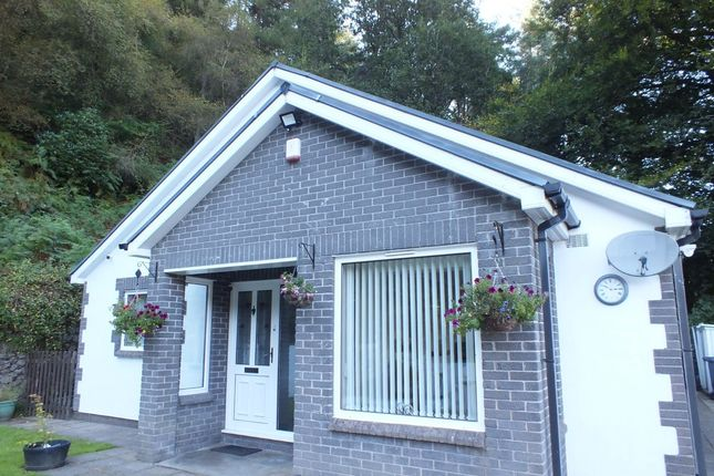 Thumbnail Bungalow for sale in Hillside, Old Blaina Road, Abertillery.