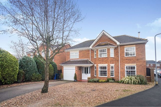 4 bed detached house for sale in Westcroft Drive, Saxilby LN1