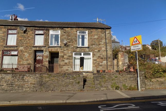 Thumbnail End terrace house for sale in Ystrad Road, Pentre, Rhondda Cynon Taff.