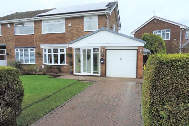 Thumbnail Semi-detached house for sale in 2 The Fallows, Chadderton