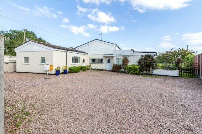 Thumbnail Bungalow for sale in Plough Road, Tibberton, Droitwich, Worcestershire