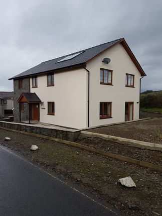 Thumbnail Detached house to rent in Penrhyncoch, Aberystywth