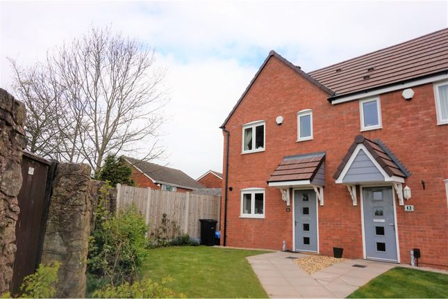 Thumbnail Semi-detached house for sale in Stone Mill Walk, Dudley
