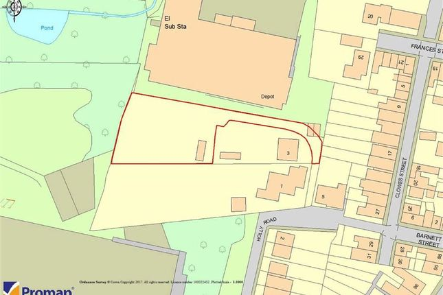 Land for sale in Holly Road, Macclesfield