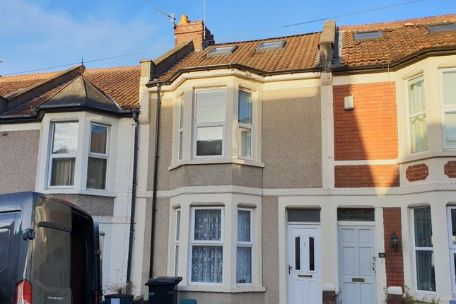 Thumbnail Terraced house to rent in Ashfield Road, Bristol