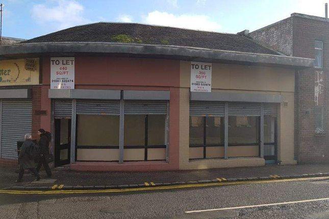 Thumbnail Retail premises to let in Grange Street, Kilmarnock