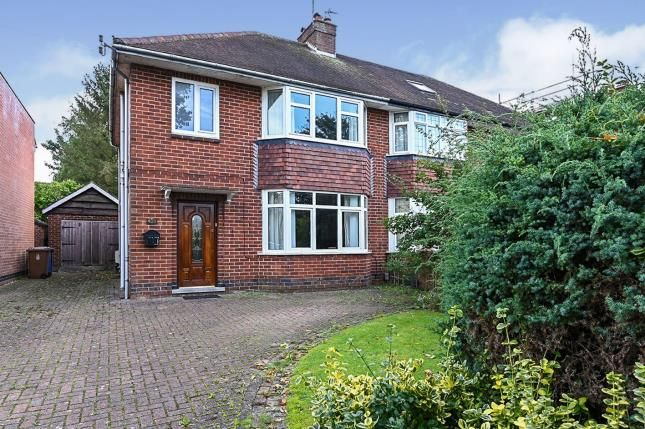 Thumbnail Semi-detached house for sale in Kedleston Road, Derby, Derbyshire