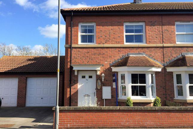 Thumbnail End terrace house for sale in Fletton Road, Norton, Malton